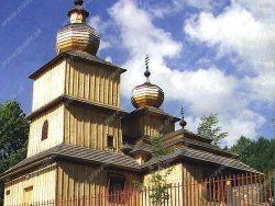 Drevený Kostolík Svätej Paraskievy - Dobroslava Medvedie