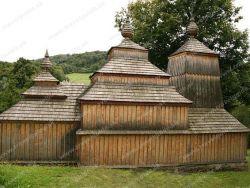 Drevený kostolík svätého Michala Archanjela - Príkra Medvedie