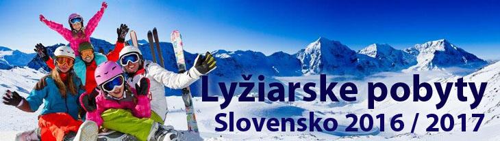 Lyžiarske pobyty na Slovensku