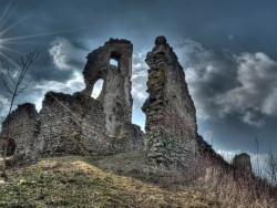 Brekovský hrad Strážske