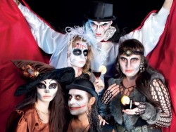 Halloween v SITNO Forest Resort Vyhne