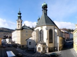 Kostol sv. Kataríny Banská Štiavnica