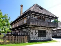 Múzeum ľudovej architektúry v Čičmanoch Čičmany