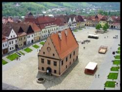 Radničné námestie v Bardejove Bardejov