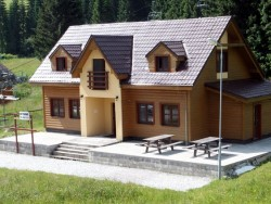 Chata pri sedačke Oravská Lesná