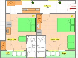 Ubytovanie v súkromí ADELA #13