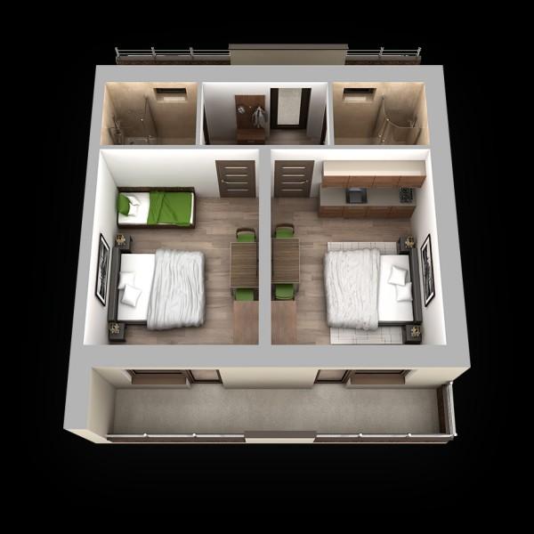 Apartmánový dom TERMÁL #33