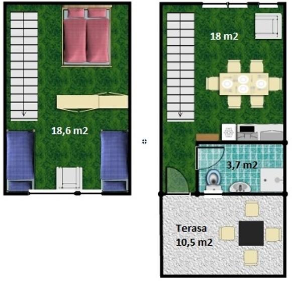 Apartmány a Štúdiá SMARAGD - Thermal VADAŠ Resort  #12