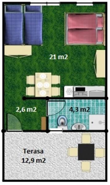 Apartmány a Štúdiá SMARAGD - Thermal VADAŠ Resort  #25