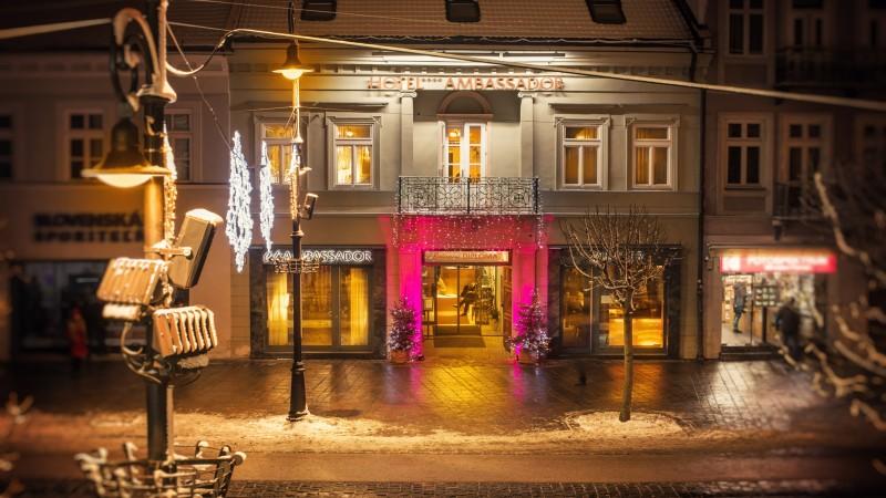 d700407c0 Hotel AMBASSADOR, Košice - Hotels, Accommodation - Travelguide.sk