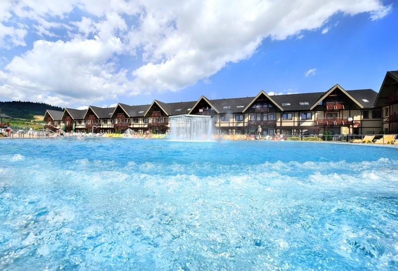 Jesenné prázdniny 2019 vo Vodnom parku Bešeňová so vstupom do bazénov a saunového sveta #33
