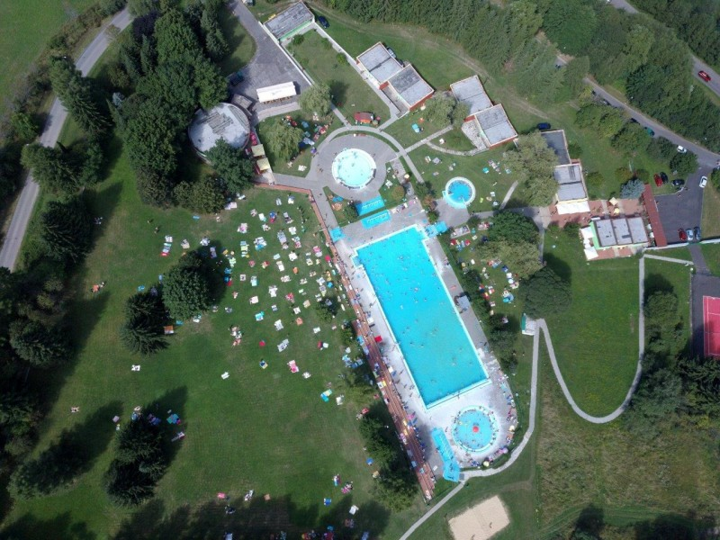 Jesenné prázdniny v Nízkych Tatrách (bazén s termálnou vodou) #30