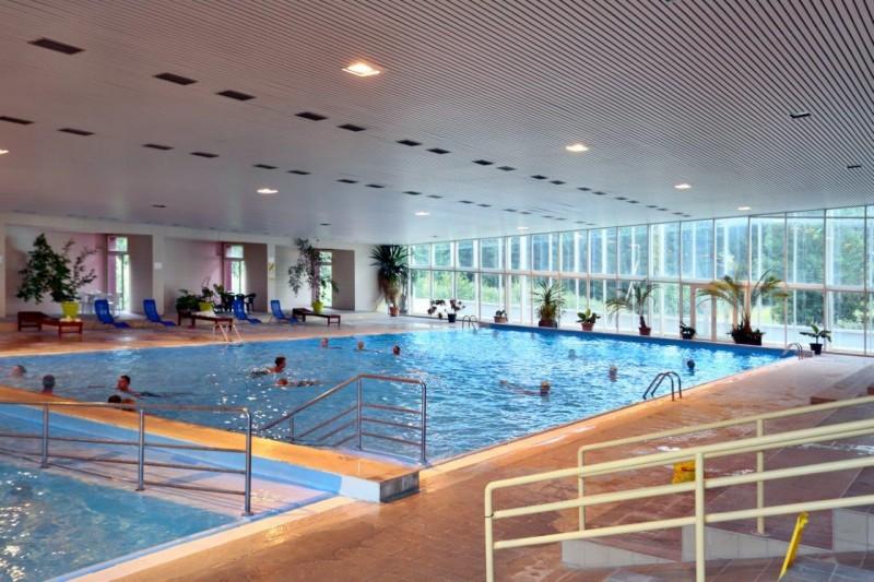 Jesenné prázdniny v Nízkych Tatrách (bazén s termálnou vodou) #17