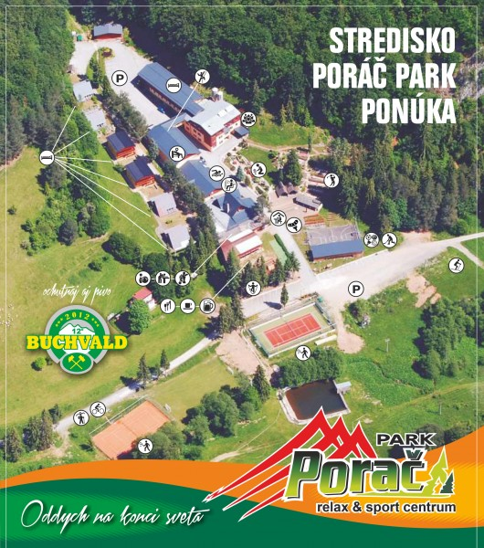 Poráč Park relax & sport centrum - Hlavná budova #13