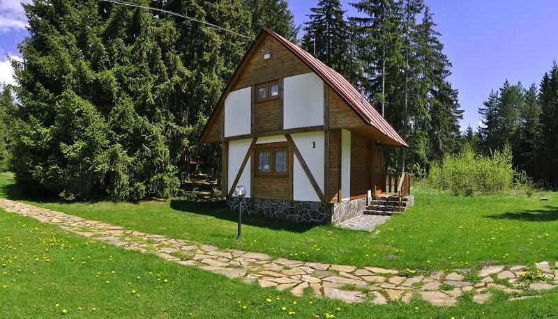 Zrubové chaty Bobrovecká dolina #1