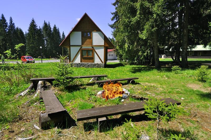 Zrubové chaty Bobrovecká dolina #3