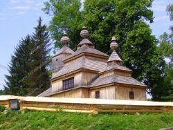 Cerkiew św. Mikołaja w Bodružalu Medvedie