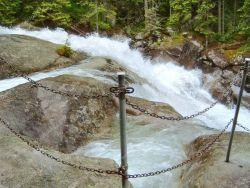 Vodopády Studeného potoka Horný Smokovec
