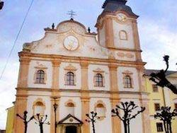 Barokový kostol sv. Ducha a kláštor minoritov Levoča
