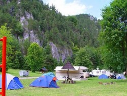 Camping SLNEČNÉ SKALY Rajecké Teplice