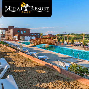 MIRAJ RESORT - Little piece of paradise