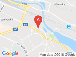 ZILINA Tourist Hostel Map