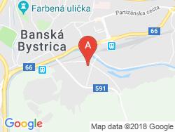 Penzión UHLISKO Mapa