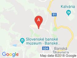 Penzion ISTER Mapa