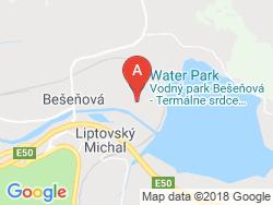 Hotel BEŠEŇOVÁ Mapa