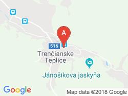 Kúpeľný hotel Krym Mapa
