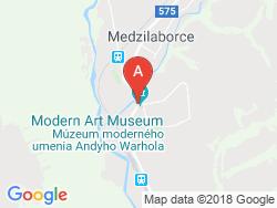 Penzión ANDY Mapa