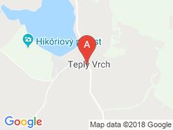 Turistická ubytovňa OLIVER - RZ ORMET Mapa