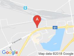 Hotel REMY Mapa