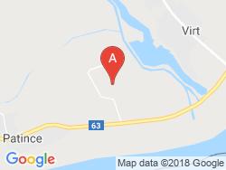 Apartmánová chata DANA Mapa