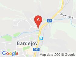 Hotelová akadémia Jána Andraščíka Mapa