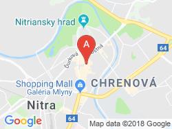 Hotel ATRIUM Mapa
