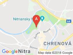 Penzión PKO Nitra  Mapa