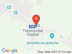 Kúpeľný hotel SLOVAKIA Mapa