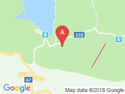 Turistická ubytovňa NITA Mapa
