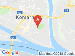Thermal swimming pool Komárno Map