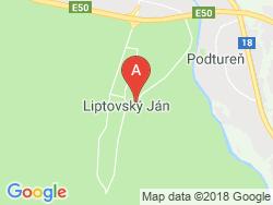 Penzión Sankt Johann Mapa