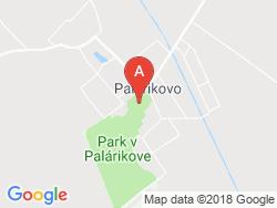 Poľovnícky kaštieľ PALÁRIKOVO Mapa
