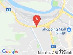 G Hotel DOPRASTAV Žilina Mapa