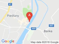 Hotel PAVLA Mapa