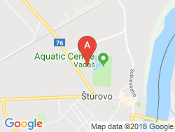 Apartmány Westend - Thermal VADAŠ Resort  Mapa