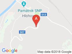 Hotel STOFING - spoločensko relaxačné centrum Mapa
