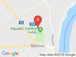 Apartmány AQUA Mapa