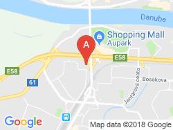 Hotel ESPRIT Mapa
