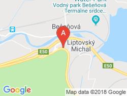VIP Apartmány Mapa