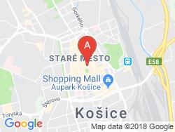 Boutique Hotel SLÁVIA Mapa